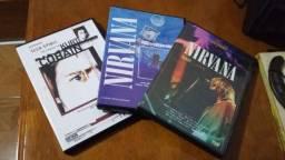 3 DVDs do Nirvana Originais