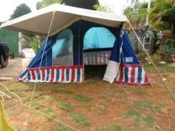 Barraca de camping 3 quartos e outra para 2 pessoas