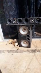 uma caixa de som