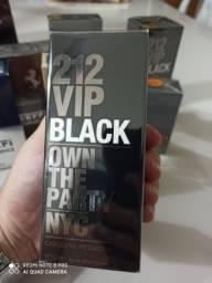 Perfume 212 vip black 100ml lacrado
