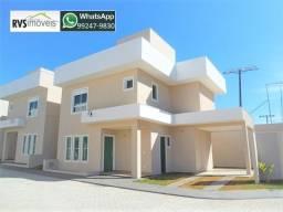 { Veja isso } Casa tipo sobrado em condomínio 3 quartos 3 suítes plenas, amplo quintal