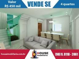 Vendo casa Pronta no Araçagy (Paço do Lumiar), com 4 quartos