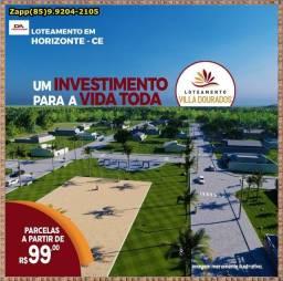 Invista hoje mesmo - Loteamento Villa Dourados(.)/