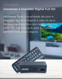 Conversor digital full HD aquário