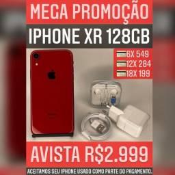 iPhone XR 128GB. Somos loja!!!!