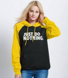 Moletom Just do Nothing