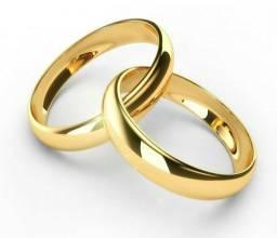 Alianças para namoro e casamento