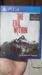 Título do anúncio: Jogo the evil within ps4