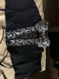 Conjunto de corpete com calcinha fio tamanho G/GG
