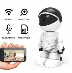 Robô câmera de monitoramento