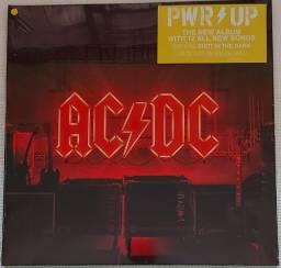 Lp Ac/dc Power Up ( Vinil Amarelo Edição Limitada ) Lacrado