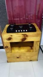 cooktop e móvel