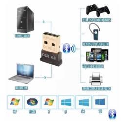 Adaptador Bluetooth 4.0 USB Para PC e Not