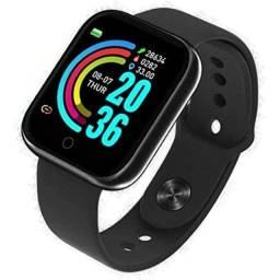 Relógio Smartwatch D20 Android Ios Inteligente Bluetooth Nfe