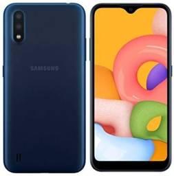 Título do anúncio: Samsung galaxy A01 MUITO NOVO com nota fiscal