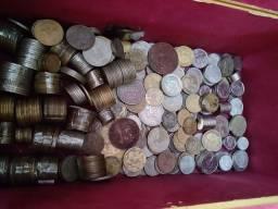 Coleção de moedas antigas. R$ 3.500