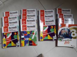 Coleção Bernoulli 8º ano edição 2020 + Livro Araribá Plus Arte 8º ano 2020