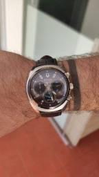 Título do anúncio: Relógio Bulova Curv Black 98A155 - Couro
