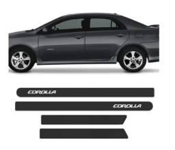Frisos Corolla 2008 a 2014 Preto Fosco