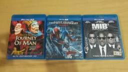 Homem aranha 3D, M.I.B. 3D, Cirque Du Soleil 3D - Blu-ray Disco