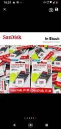 Título do anúncio:  Liquidação ... Cartão de memória micro classe10 32gb Sandisk