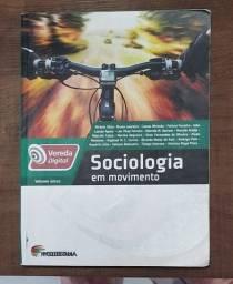 Livro Sociologia Em Movimento - Vereda Digital - Volume Único