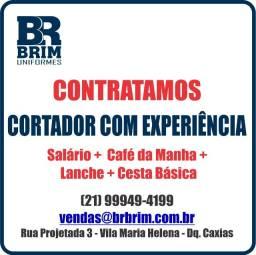 Empresa de Uniformes contrata Cortador - Tecidos