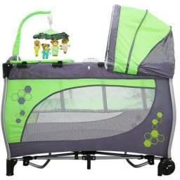 Cercado baby style verde usado