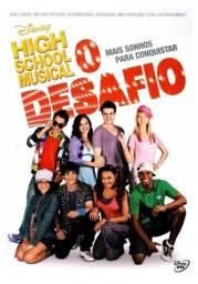 Dvd High School Musical - O Desafio