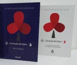 Livro Geração de Valor 2 e 3 Flávio Augusto