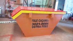 Empresa de caçamba de coleta de resíduos