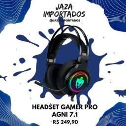 Headset Gamer Agni 7.1 Sorrond (Linha PRO) - Precinho !!!