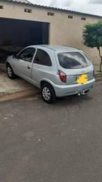 Vendo ou Troca, Chevrolet Celta Prata, ano 12/13 - Flex(álcool e gasolina)