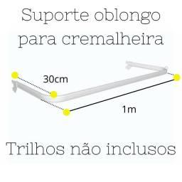 Título do anúncio: Kit 14 Araras Cremalheiras de 1m e 1.20m
