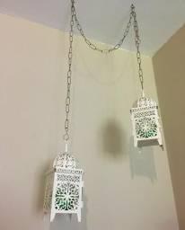 Baixou! Lanternas Marroquinas decorativas
