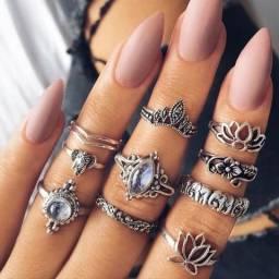 Anéis Colares Pulseiras Brincos e muito mais