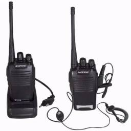 Kit de Rádio Comunicador HT Baofeng