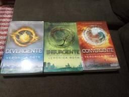 Livros série Divergente