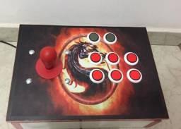 Controle Arcade NOVO USB/PC MK + DVD jogos PC