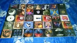 Lote de cds de rock internacional.