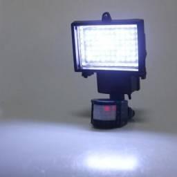Refletor energia solar 60 leds