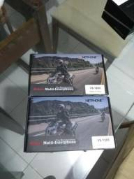 Intercomunicador Capacete Moto Bt V6 1200m Bluetooth 1 Unid