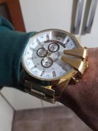 Relógio Ecotime (banhado a ouro 24k)