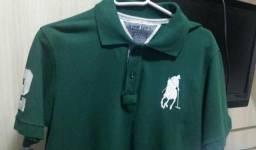 Camiseta Polo Club Original R$65,00
