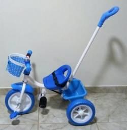 Triciclo infantil rosa ou azul