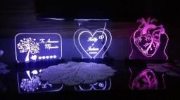 Luminária personalizada do seu jeito