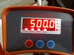 Balança Suspensa Digital De Gancho 500 Kg Bivolt E Bateria Nova na Caixa!!