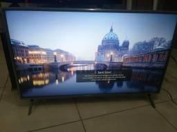 """Smart tv lg 49"""" nova ultra 4k entrego aceito cartão"""