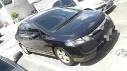 New Civic LXS 2007 Automático - 2007