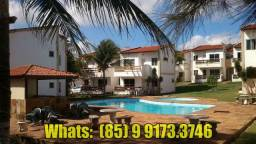 Apartamento Maravilhoso Porto das Dunas, Temporada, Mobiliado, 800m Beach Park (Ref.08)